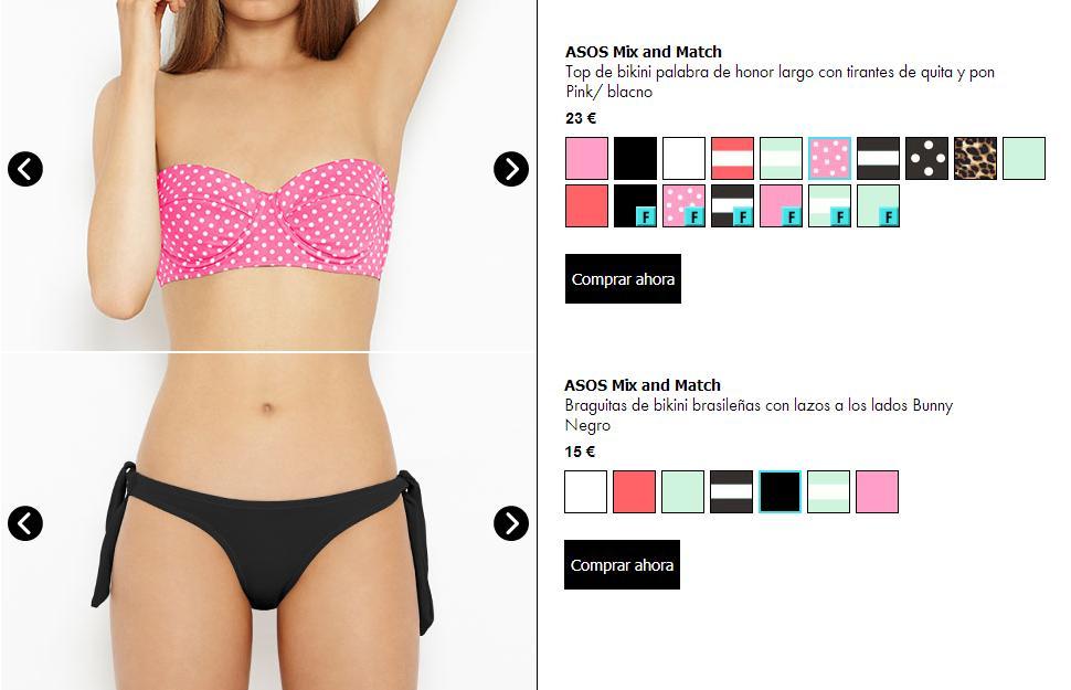 Tendencias de bikinis - Buscador de Asos
