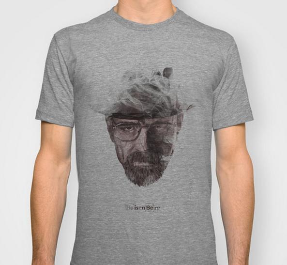 Camisetas de Breaking Bad - Hombre sombra