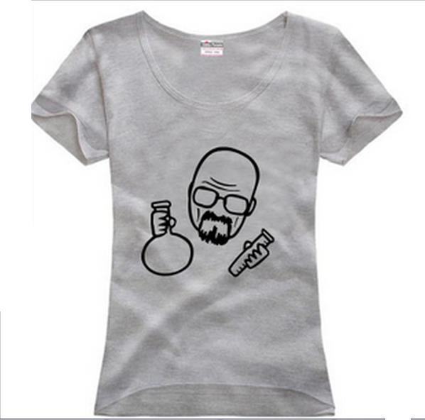 Camisetas de Breaking Bad económicas - Mujer dibujo
