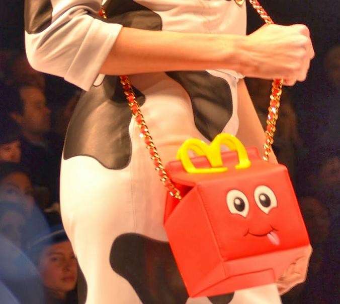 Bolsos de imitación baratos - Moschino Happy meal