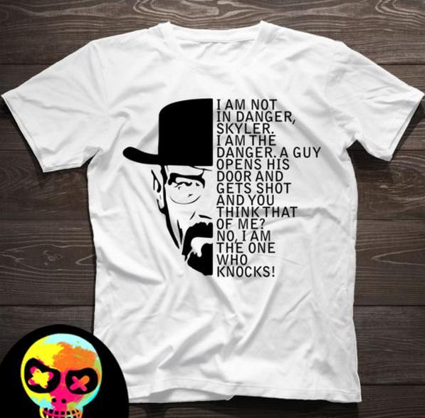 Camisetas de Breaking Bad - Hombre mensaje