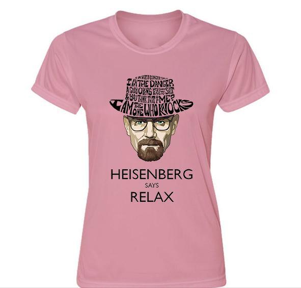 Camisetas de Breaking Bad gastos de envío gratis - Mujer Mensaje