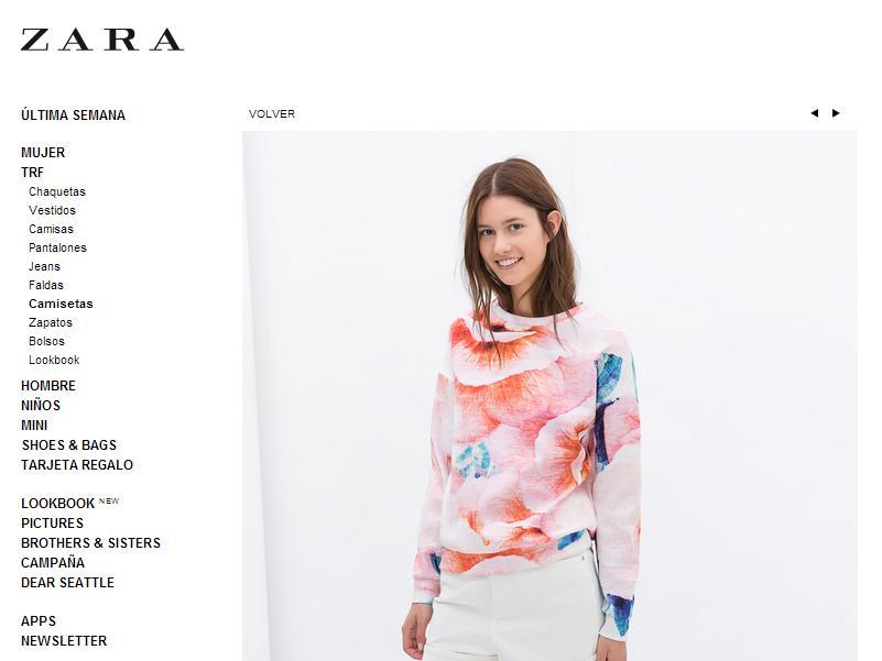 Imitaciones chinas de Zara - Sudadera en Zara