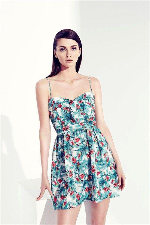 Lefties online - Catálogo: Vestido tropical