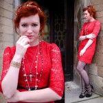 Cómo combinar un vestido rojo este verano