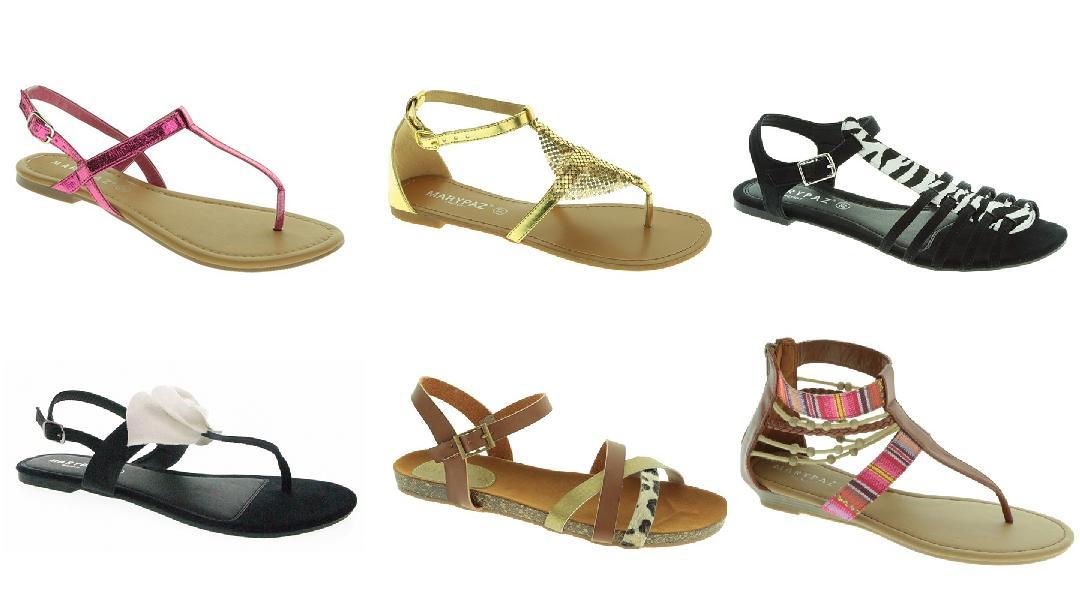 Zapatos Marypaz - Catálogo de tendencias: sandalias planas