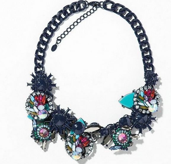 Collares de imitación - Collar de flores