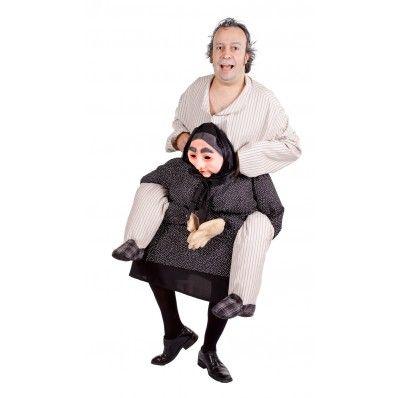 Disfraces en grupos - Disfraz de abuelo perezoso