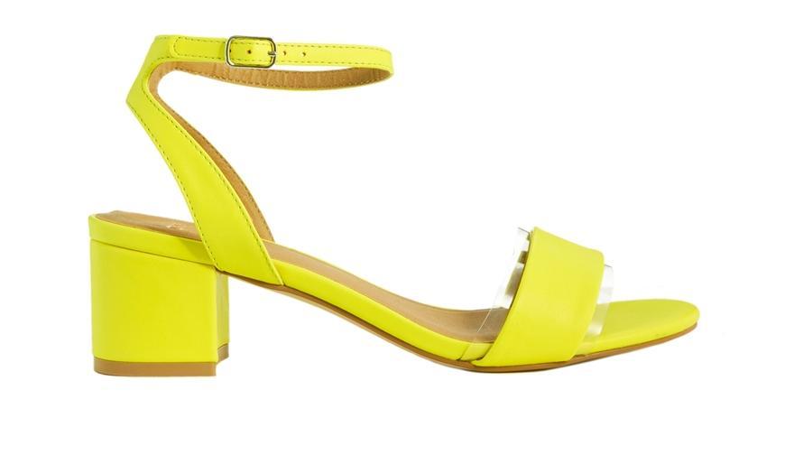 Tendencias de sandalias - Sandalias con un poco de tacón