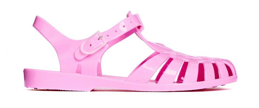 Tendencias en sandalias - Sandalias de goma de colores