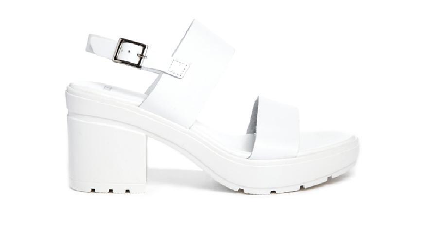 Tendencias en sandalias - Sandalias track blancas