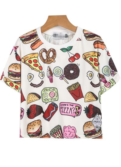 Tendencias primavera verano 2015 - Camiseta estampada