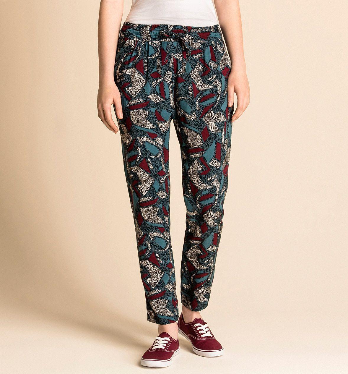 Pantalones estampado con varios colores