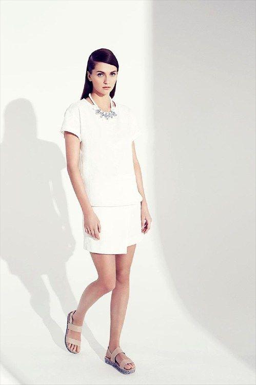 Lefties online - Catálogo: falda y camisa