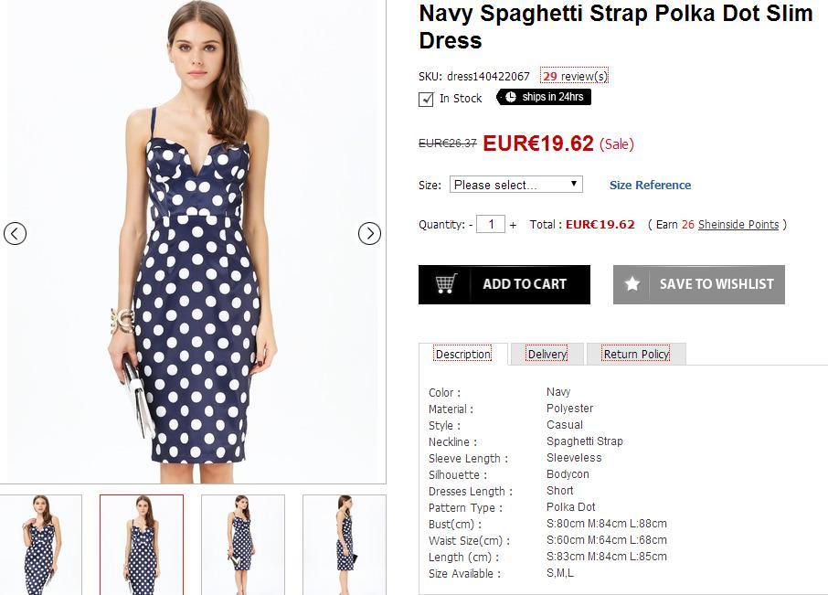Selección de prendas para el verano - Vestido de lunares