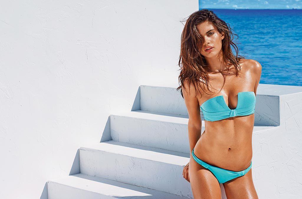 Bikini con nudos