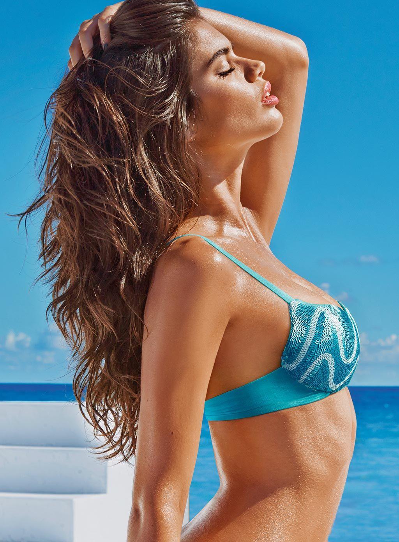 Bikini de lentejuelas brillantes