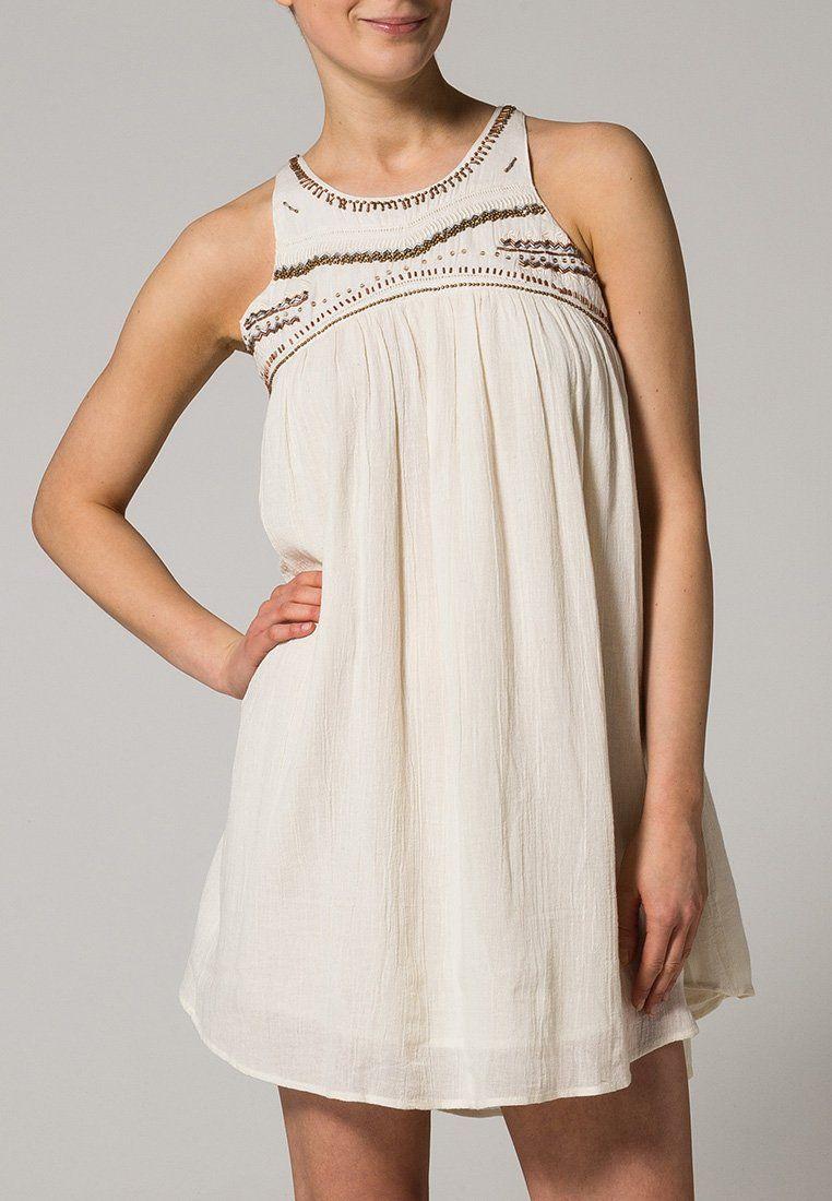 Vestido ibicenco - Billabong apliques en el cuello