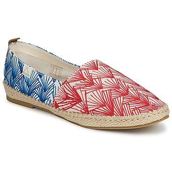 Zapatillas esparto - Estampado azul y rojo