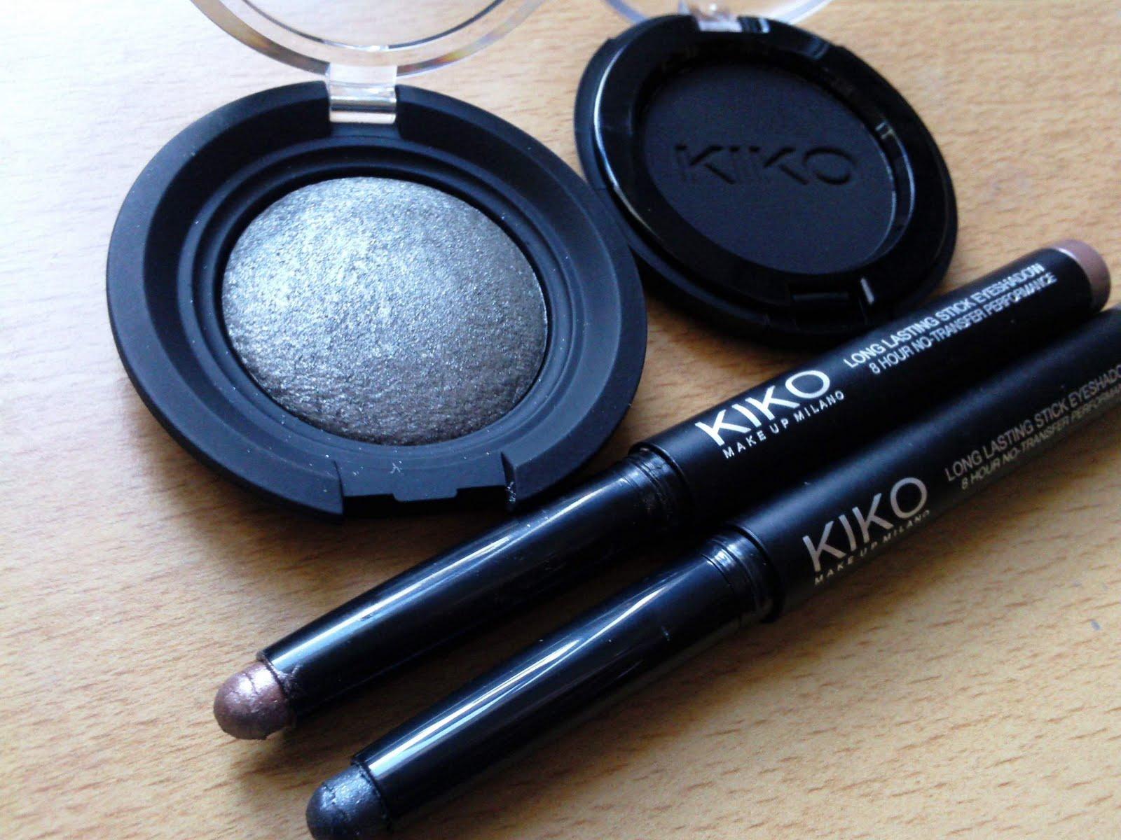 Kiko make up Milano - Sombras en polvo y lápiz