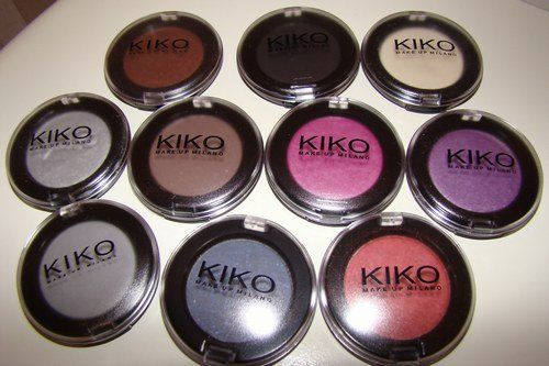 Kiko make up Milano - Sombras de colores