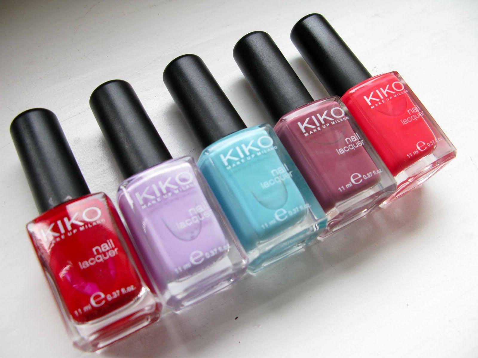 Kiko make up Milano - Lacas de uñas de colores
