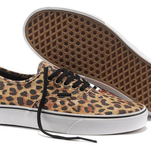 vans de leopardo baratas