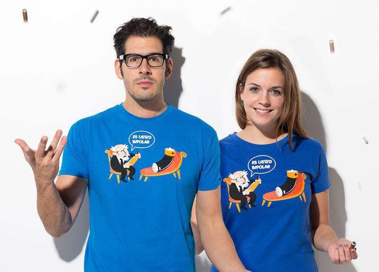 Camisetas originales económicas - Es usted bipolar?