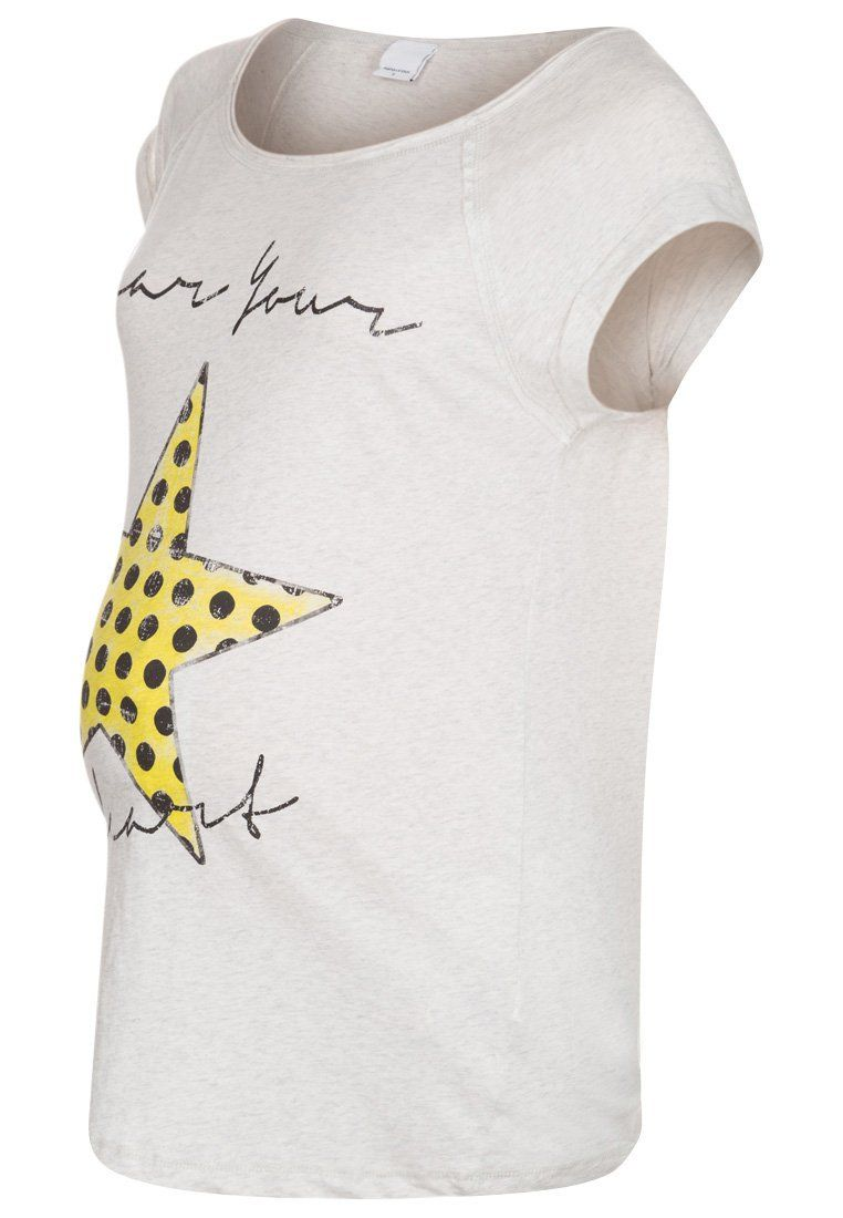 Ropa premamá - Camiseta con estampado de estrella