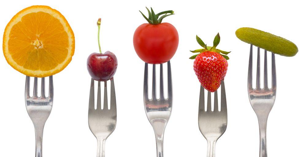 Alimentos de la Dieta Detox