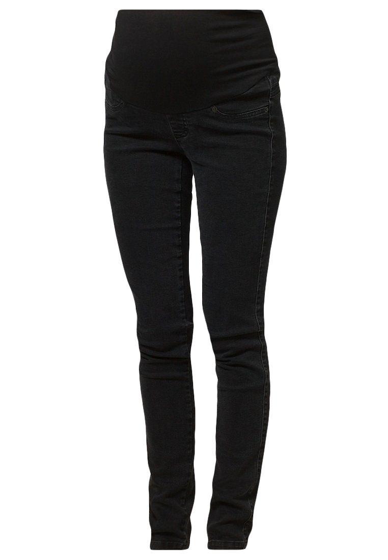 Premamá - Pantalón fit negro