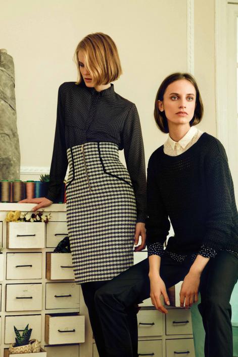 Dolores Promesas online - Camisa y falda. Jersey y pantalón