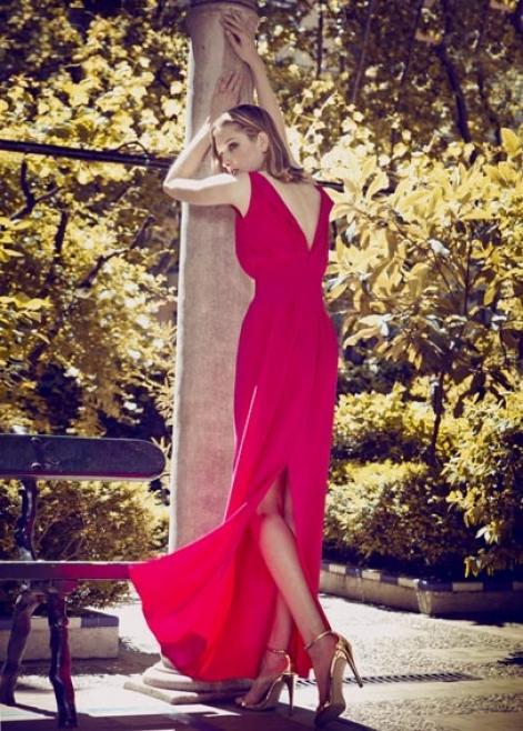 Colección de fiesta - Vestido largo rojo