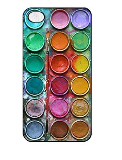 Funda para iPhone de paleta de acuarelas