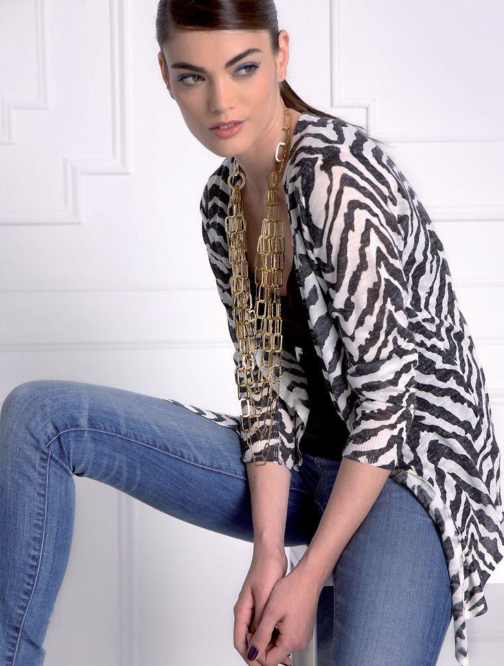Almatrichi online - Chaqueta zebra