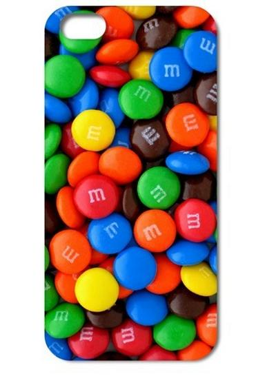 Funda para iPhone de M&M's