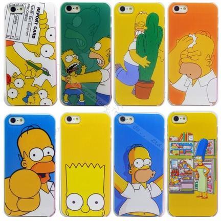 Fundas para móviles de los Simpsons