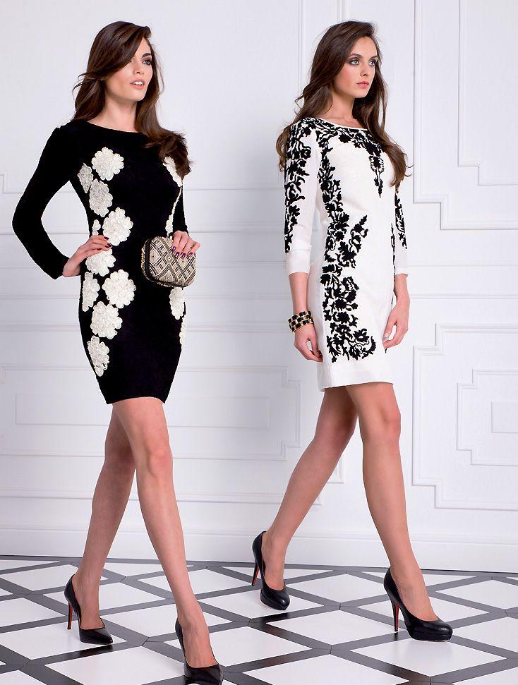 Almatrichi online - Vestidos negro y blanco