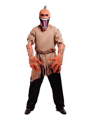 Disfraz de Halloween de calabaza embrujada
