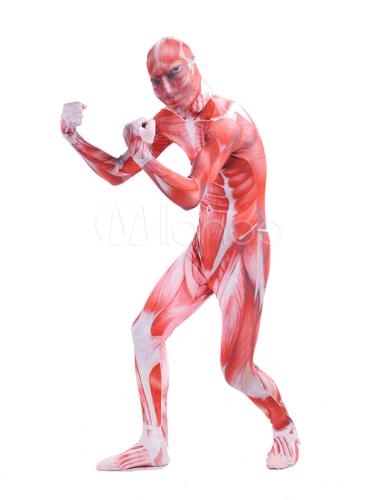 Disfraces de Halloween de hombre sin piel
