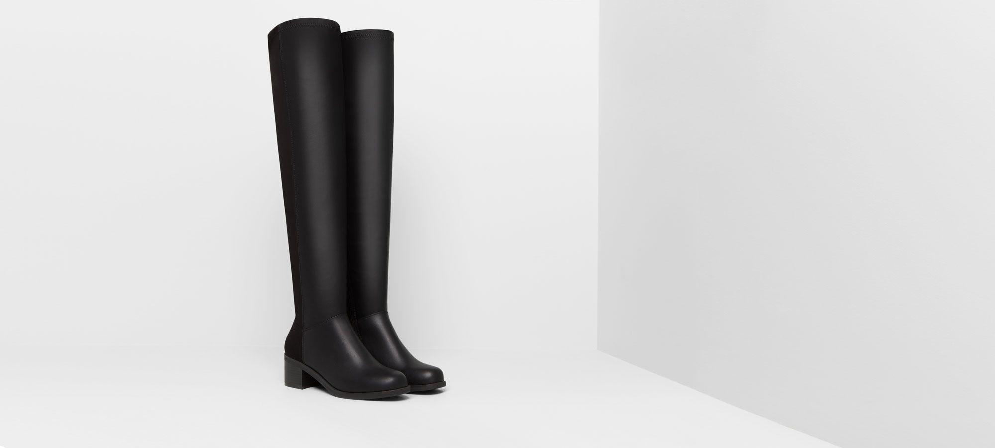 Botas altas Pull and Bear
