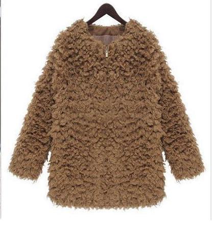 Abrigo de pelo de oveja