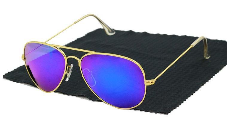 Gafas de sol vintage baratas - Modelo aviador de marca