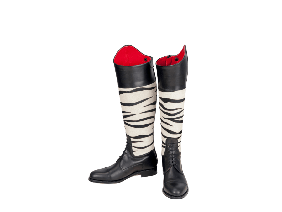 Botas de amazona estampadas