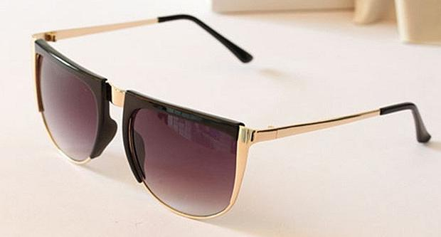 Gafas de sol vintage baratas - Modelo curvo