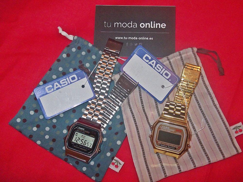 Sorteo de relojes casio en Tu Moda Online