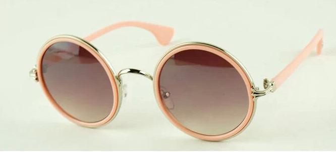 Gafas de sol vintage baratas - Modelo círculo