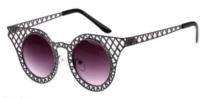 Gafas de sol vintage - Modelo rejilla