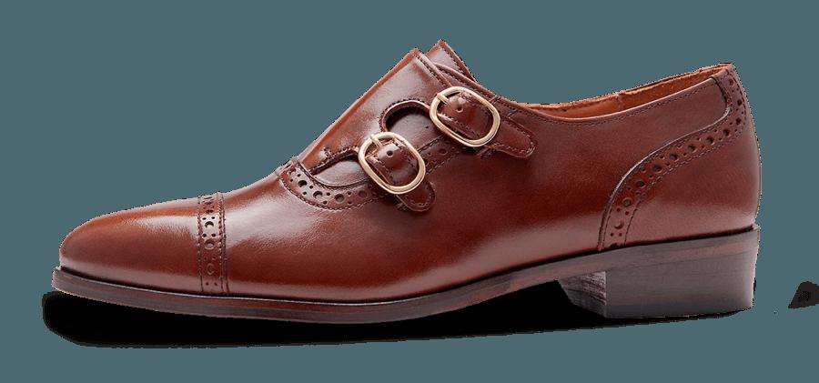 Zapatos Oxford para mujer con hebillas