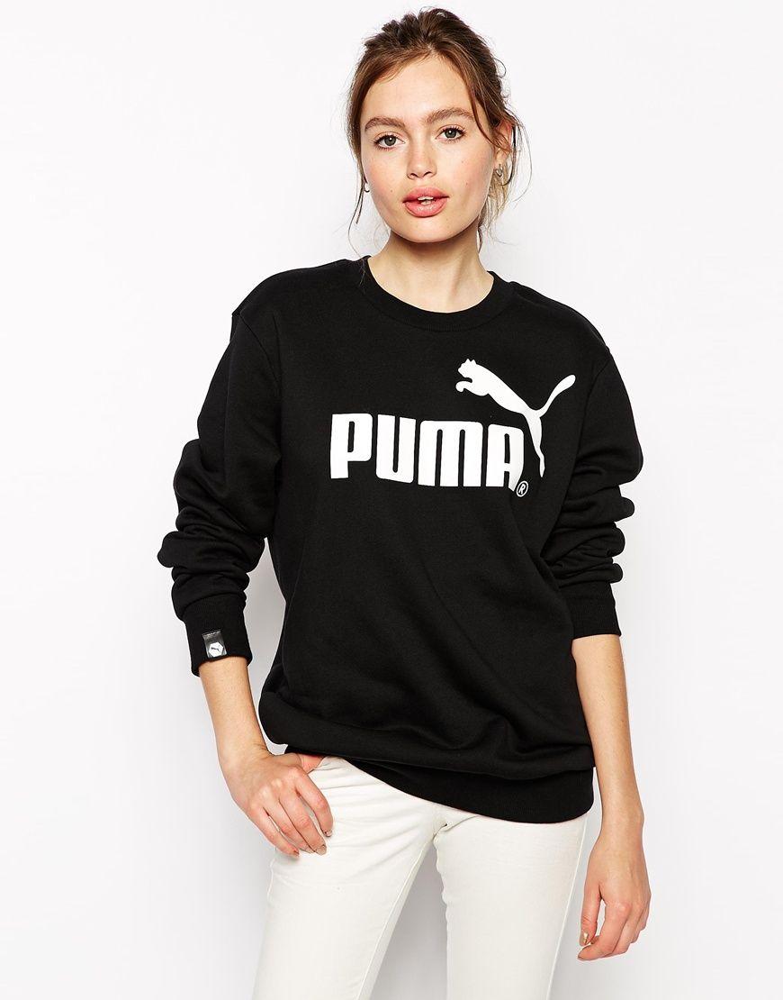 Sudadera Puma negra